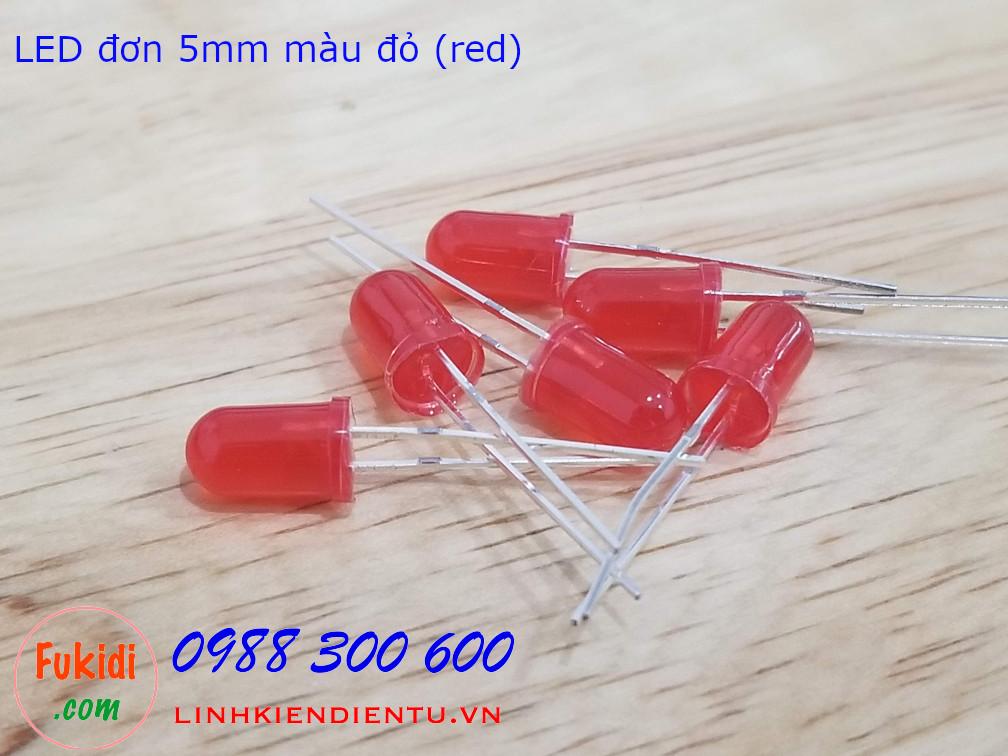 LED 5mm màu đỏ sáng đỏ