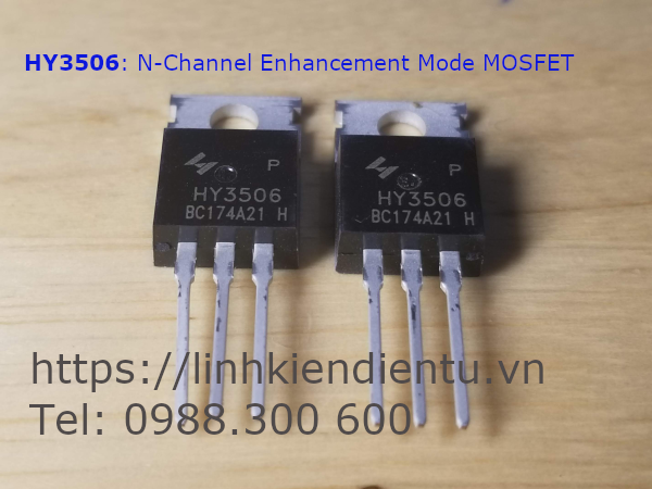 HY3506: 60V/190A  N-Channel Enhancement Mode MOSFET