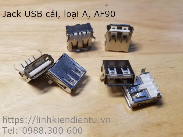 Jack USB loại A, AF90