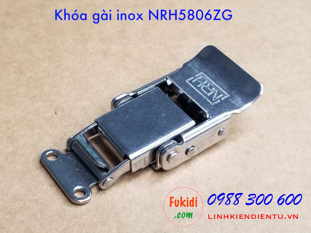 Khóa gài hộp gỗ NRH5806ZG chất liệu inox 304 kích thước 28x69mm