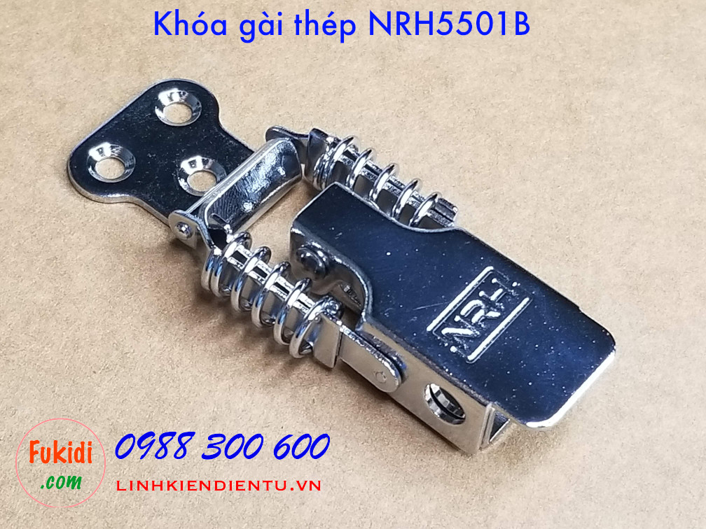 Khóa gài thép NRH5501B kích thước 30x68mm