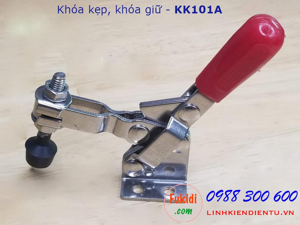 Khóa kẹp inox dùng cố định sản phẩm trong khi chế biến - KK101A