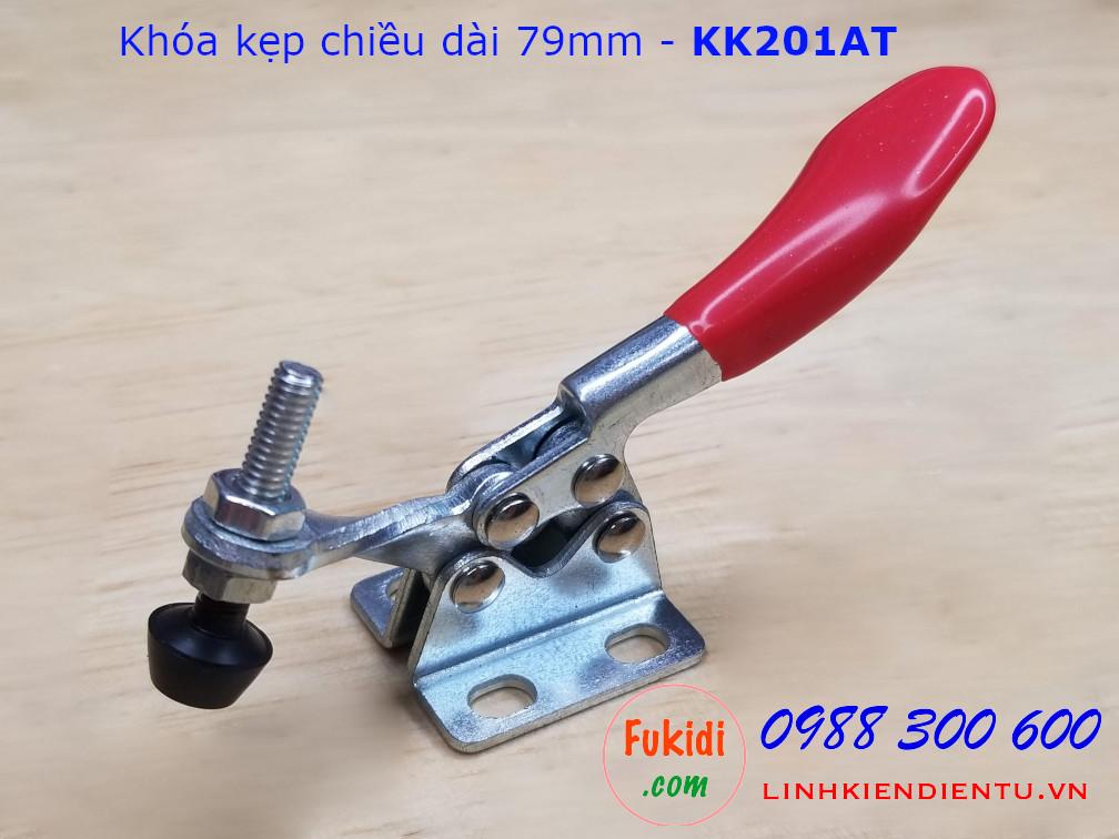 Khóa kẹp bằng thép, dùng để giữ đồ vật trong khi chế biến  - KK201AT