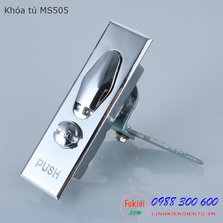 Khóa tủ điện MS505 chất liệu kẽm, không chìa khóa