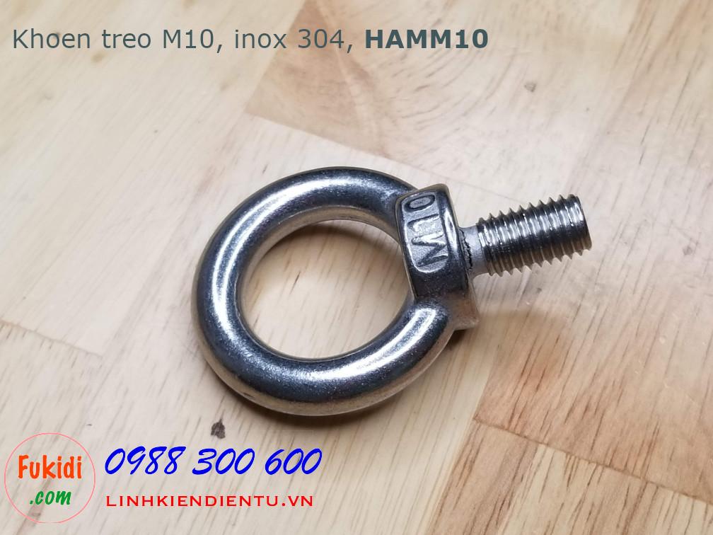 Khoen treo inox 304 size M10 model HAMM10
