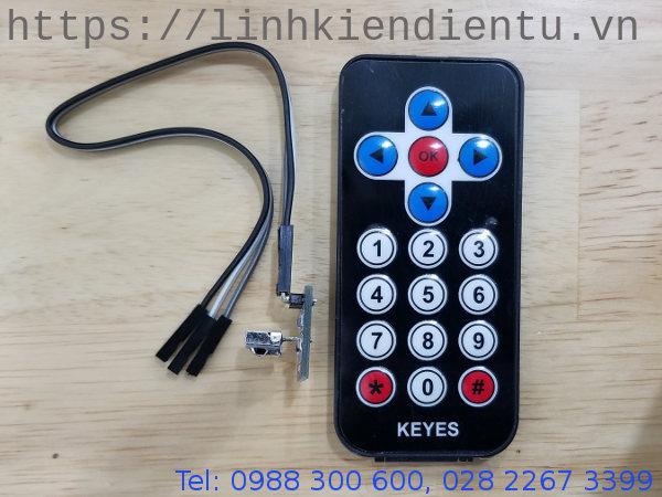 Remote thu phát hồng ngoại cho Arduino