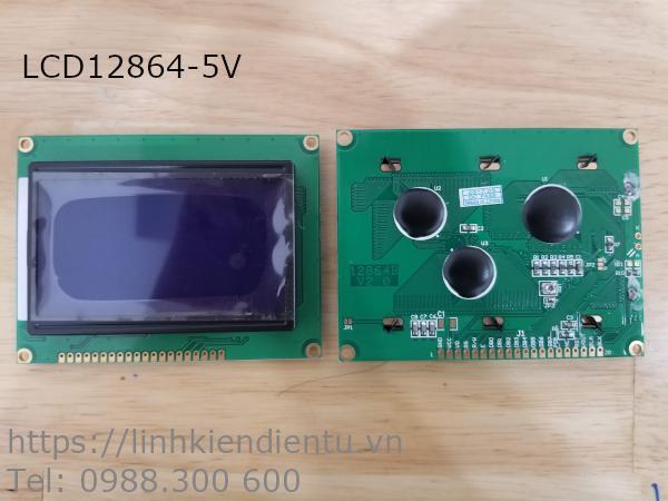 Màn hình LCD12864 chữ trắng nền xanh