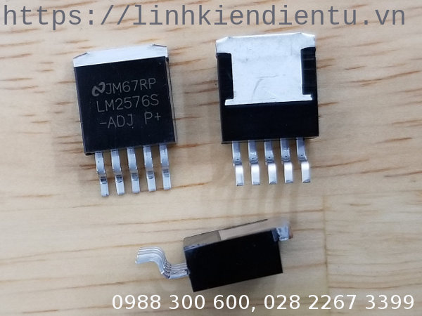 LM2576S-ADJ: 40V, 3A Low Component Count Step-Down Regulator