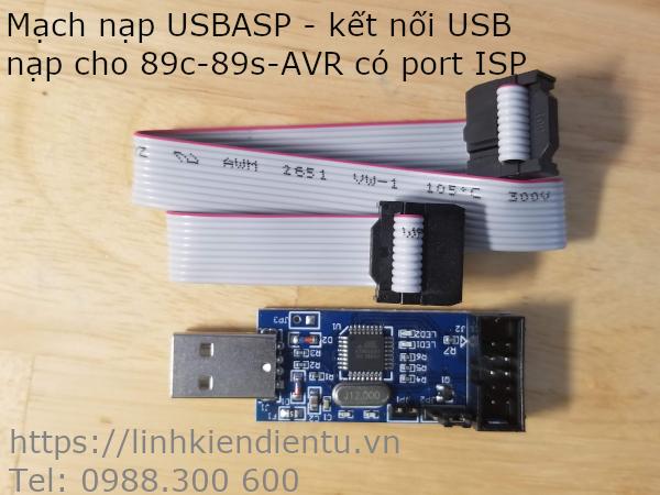 Mạch Nạp MCU 89 và AVR ISP USBasp/USBisp