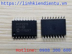 Microchip MCP2515 I/SO CAN controller
