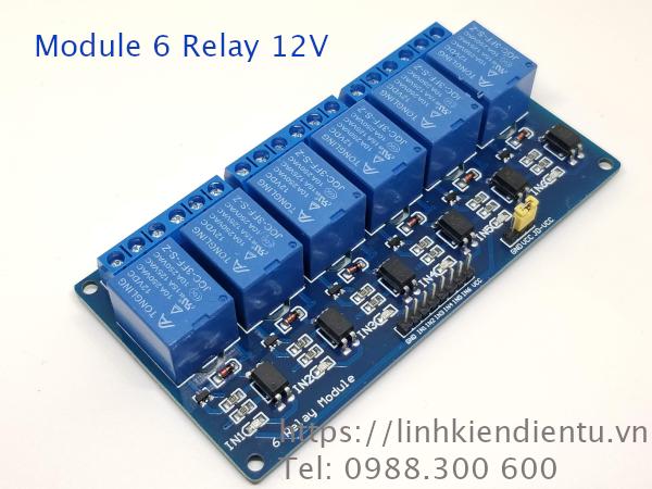 Module 6 Relay 12V