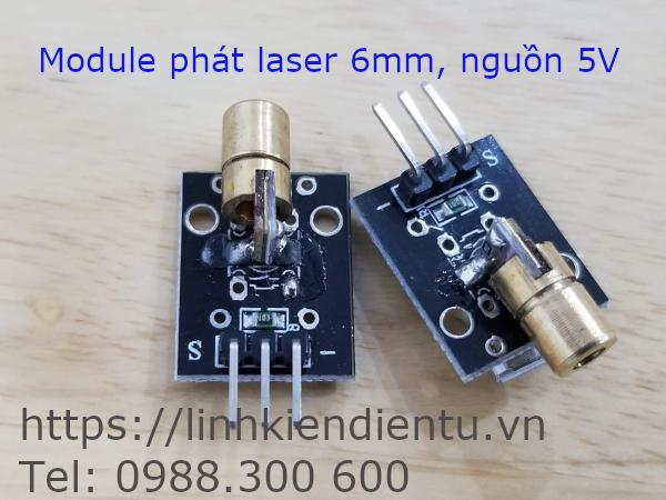 Module phát laser 6mm, 5V