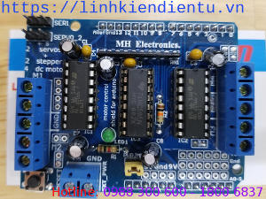Motor Control Shield L293D Arduino