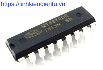MT8870D: DTMF Receiver with Enhance Sensitivity