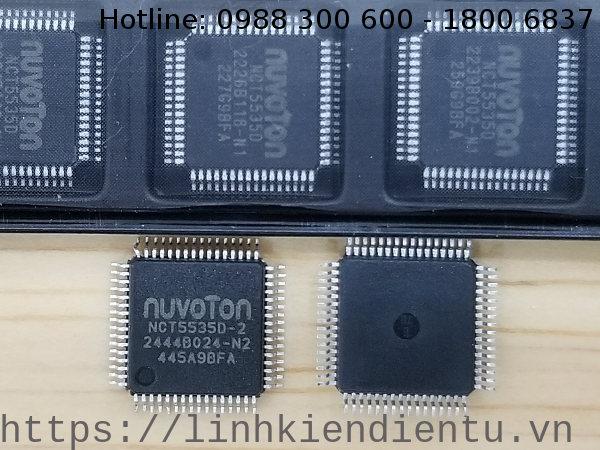 NCT5535D Nuvoton LPC I/O TQFP64