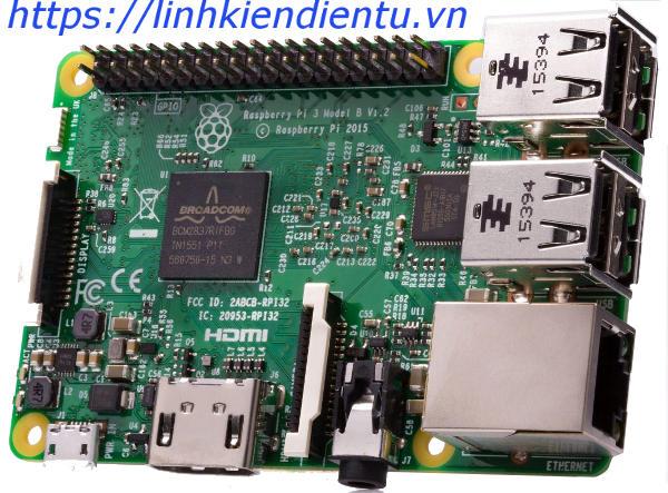 Máy tính mini Raspberry PI 3 Mode B