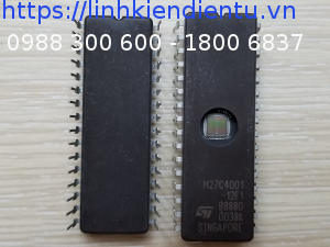 M27C4001-12F1 - 512KB UV EPROM and OTP EPROM