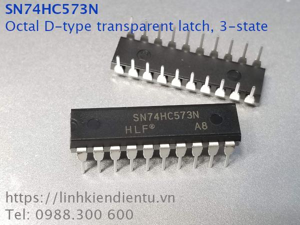 74HC573N Octal D-type transparent latch, 3-state