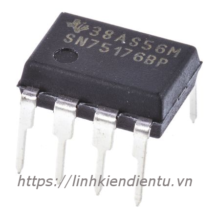 SN75176BP RS-485 Interface - Differential Bus Transceiver