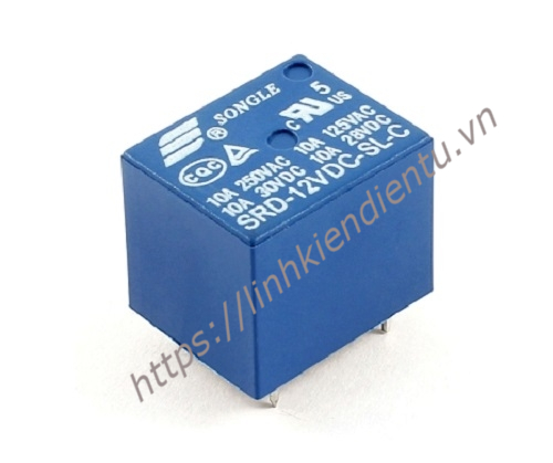 Relay Songle 12V SRD-12VDC-SL-C