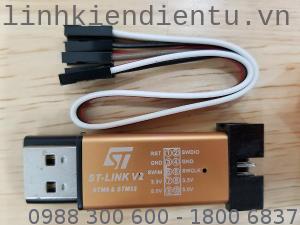 ST-Link V2: STLink ST Link Mạch nạp và debug cho vi xử lý STM8 và STM32
