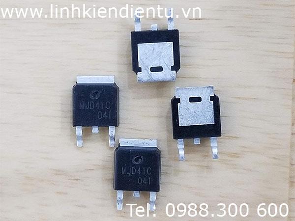 MJD41C (TIP41, J41C): 6.0A, 100V NPN Bipolar Power Transistor