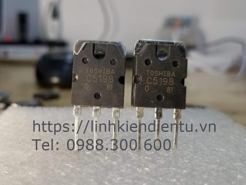 2SC5198 Power transistor - khuếch đại âm thanh với công suất tới 70w