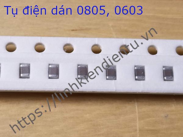Tụ Dán Ceramic 339K 50V 39nF/50V 0805