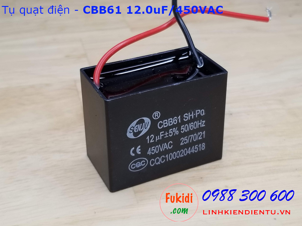 Tụ CBB61 12uF 450V