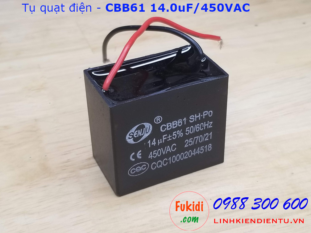 Tụ CBB61 14uF 450V