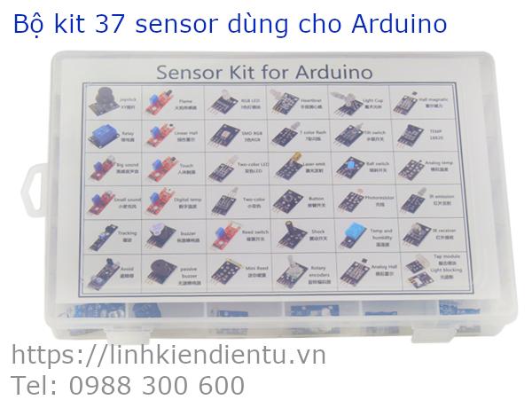 Bộ kit 37 cảm biến dùng học lập trình cho Arduino