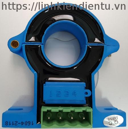 Cảm biến dòng hall hst21 300A-4V AC-DC - hall effect sensor mặt sau