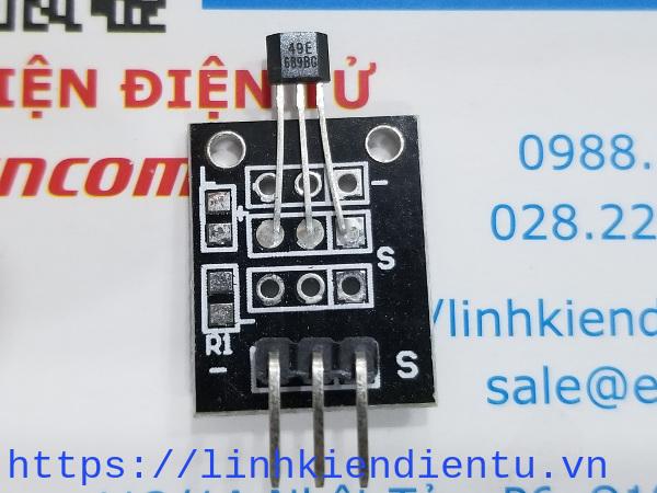Cảm biến từ trường ky-035 - analog hall magnetic sensor ky-035