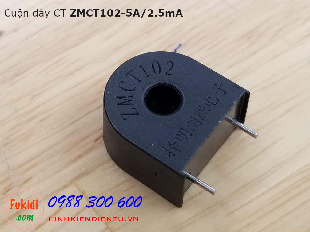 Cuộn dây CT ZMCT102 5A/2.5mA