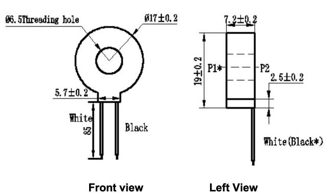 Cuộn dây cảm biến dòng ZMCT205D
