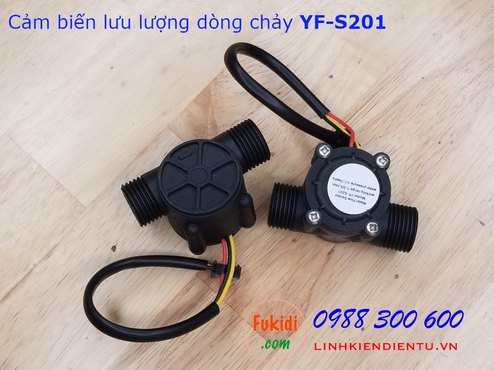 Cảm biến lưu lượng dòng chảy YF-S201
