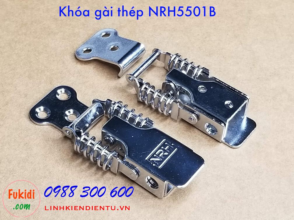 Mặt trên và dưới của khóa gài thép NRH5501B