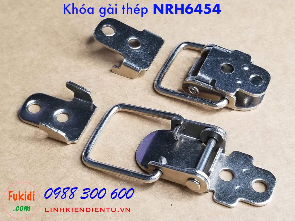 Khóa gài thép NRH6454 size 32x55mm