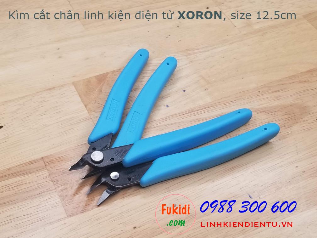 Kìm cắt chân linh kiện XORON, size 12.5cm