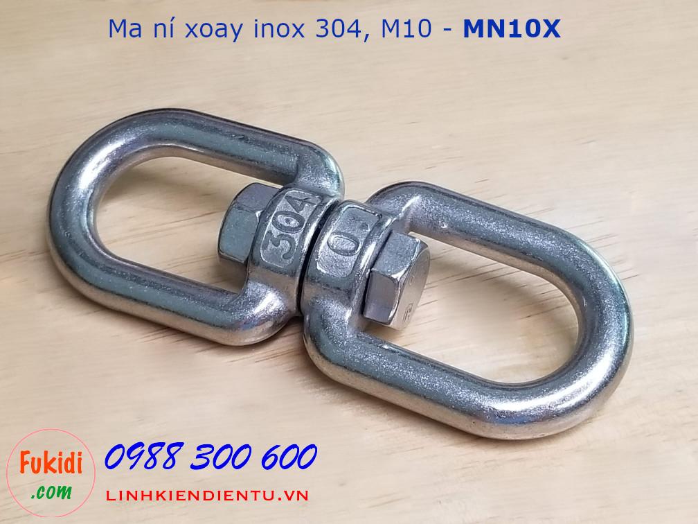 Ma ní inox xoay loại M10 - MN10X