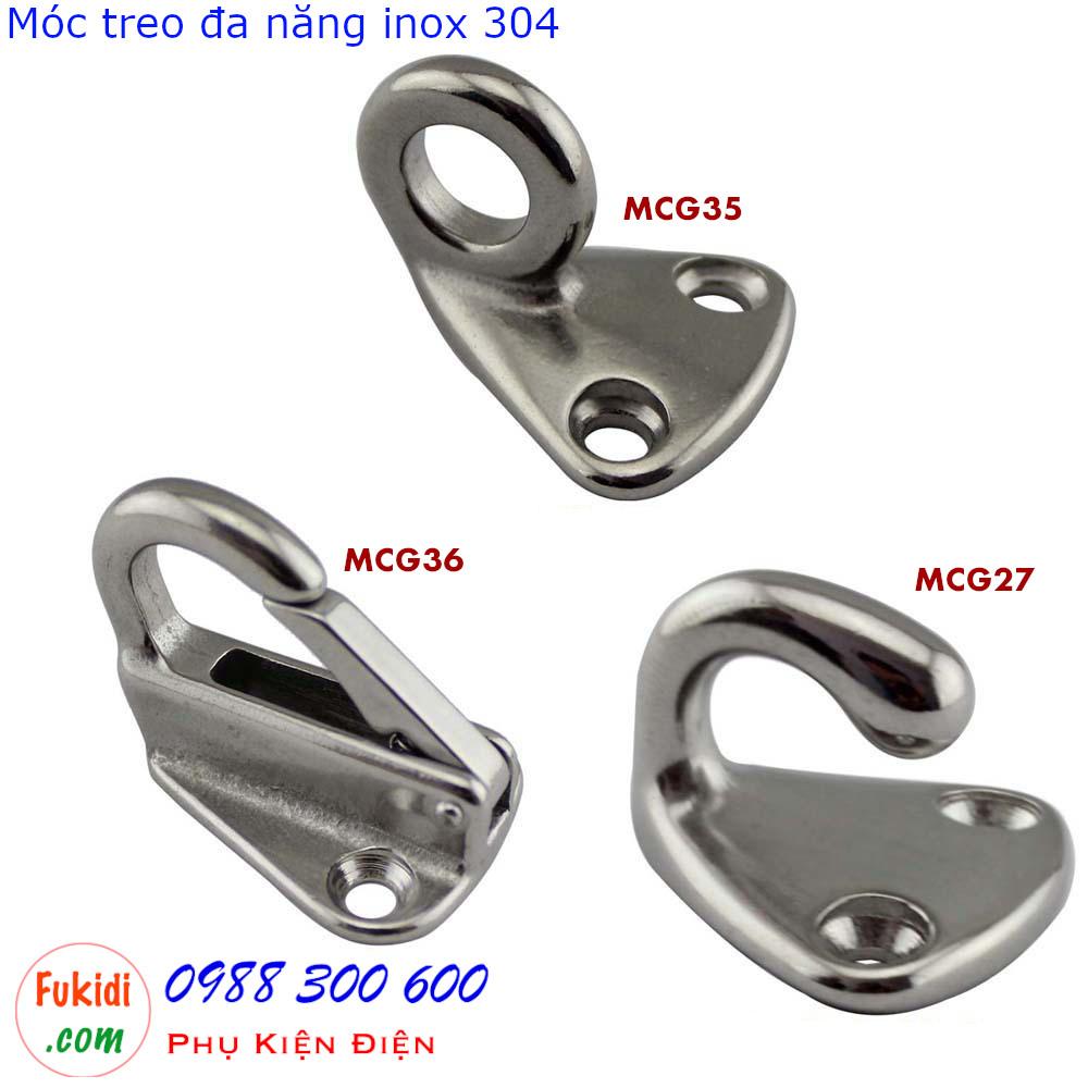 Ba loại móc treo cổ ngỗng tương tự nhưng có chức năng khác nhau