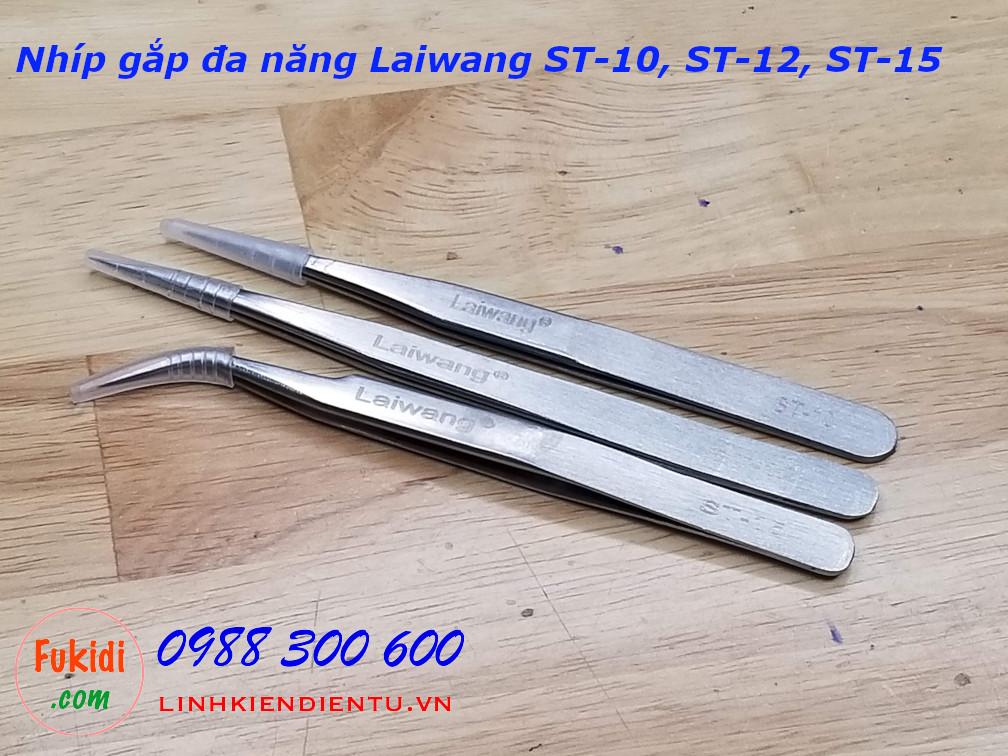Nhíp gắp đa năng Laiwang dòng ST ST-10, ST-12, ST-15