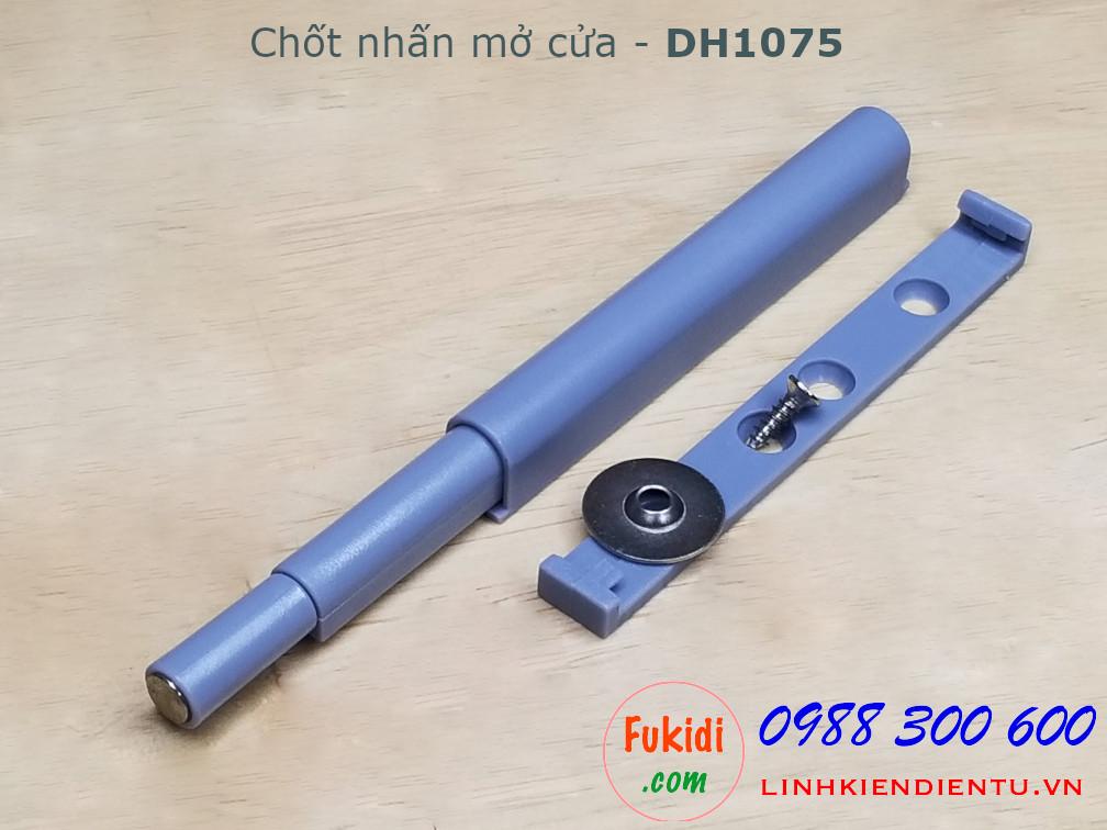 Chốt nhấn mở cửa tủ size 75x10mm - DH1075