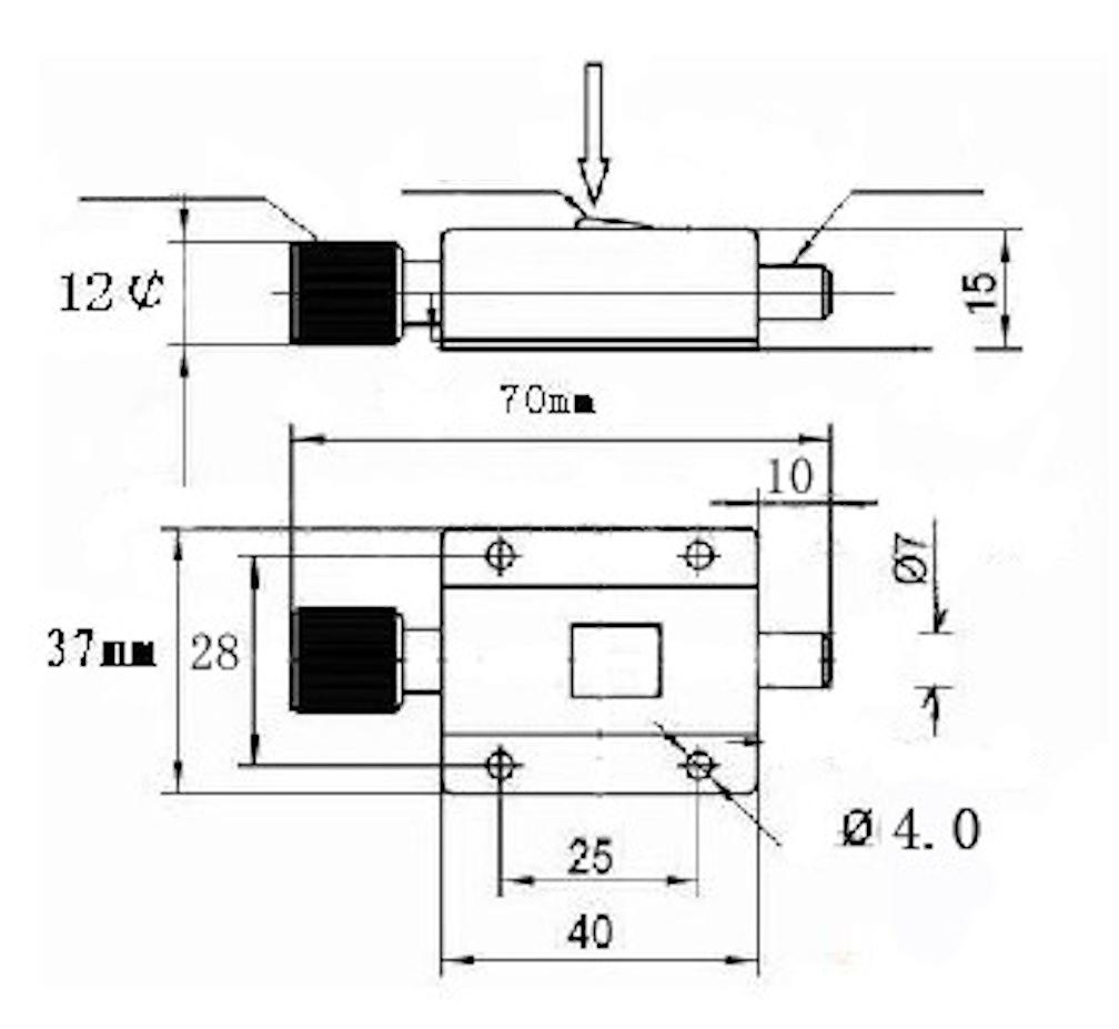 Chốt nhấn gài, chốt bấm gài, then cửa lò xo nhấn gài inox 304 size 37x70mm - TLX3770KI