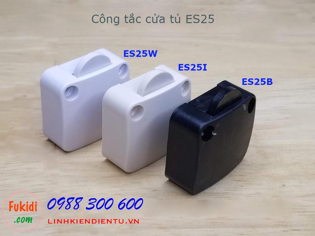 Công tắc đóng mở đèn cho tủ áo, tủ bếp 2A 250V màu ngà - ES25I