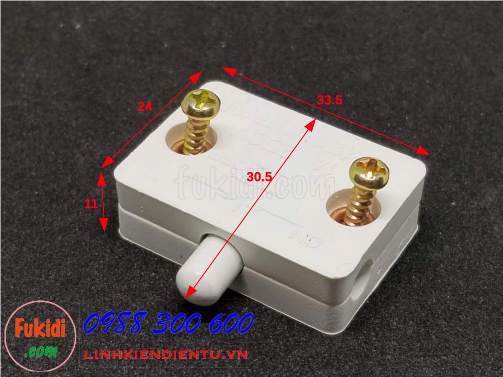 Công tắc đóng mở đèn cho tủ áo, tủ bếp 1A 250V ESW18
