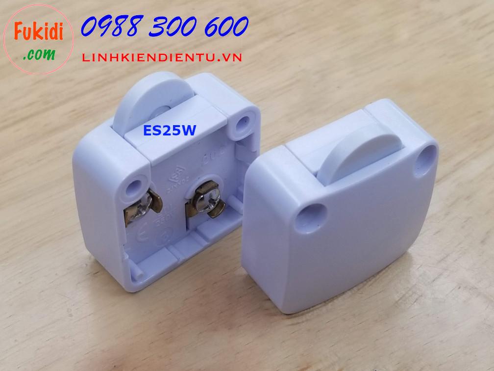 Công tắc cửa tủ trượt và cửa tủ xoay, kích thước 24x38.5x16mm màu trắng ESW25W