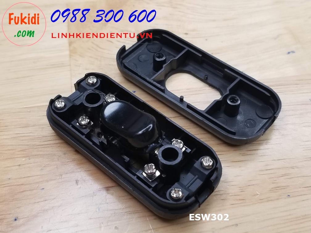 Công tắc treo dây, công tắc quả nhót, hai tiếp điểm 6A 250V ESW302