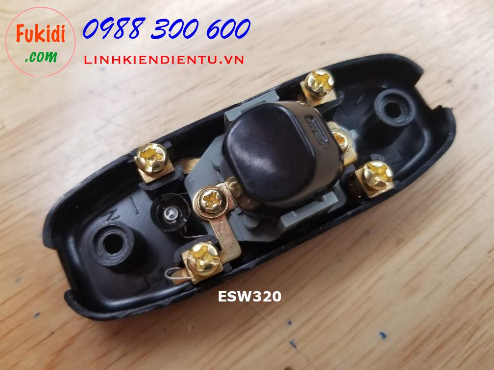 Công tắc treo dây, công tắc quả nhót, 10A 250V có đèn báo ESW320