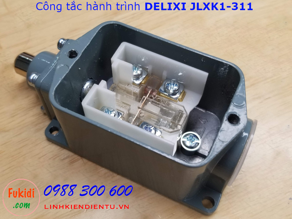 Công tắc hành trình DELIXI JLXK1-311 cần gạt dạng nút bấm
